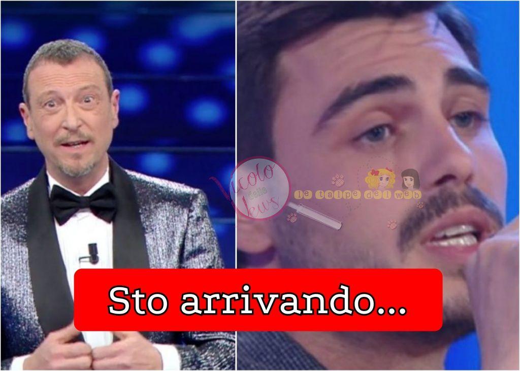 Amadeus e Francesco Monte Sanremo giovani